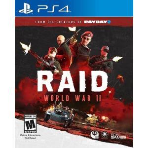【取り寄せ】 RAID: World War II - レイド ワールド ウォー II (PS4 海外輸入北米版ゲームソフト)|hexagonnystore