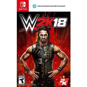 WWE 2K18 (Nintendo Switch 海外輸入北米版ゲームソフト)  日本のNinte...