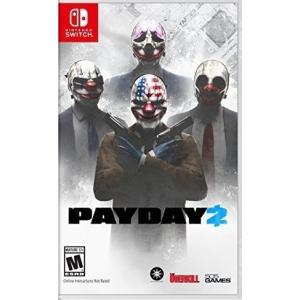 【取り寄せ】Payday 2 - ペイデイ 2 (Nintendo Switch 海外輸入北米版ゲームソフト)