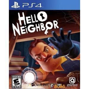 Hello Neighbor - ハロー ネイバー (日本語対応) (PS4 海外輸入北米版ゲームソ...