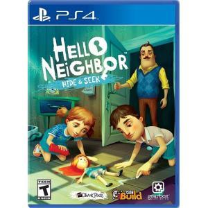 【取り寄せ】Hello Neighbor: Hide & Seek - ヘロー ネイバー ハイド & シーク (PS4 海外輸入北米版ゲームソフト)|hexagonnystore