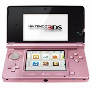 Nintendo 3DS Pearl Pink - ニンテンドー 3DS パールピンク (海外輸入北米本体)|hexagonnystore