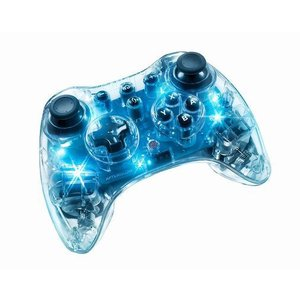 Afterglow Pro Controller for Wii U Blue - アフターグロウ プロ コントローラー ブルー (Wii Wii U 海外輸入北米版周辺機器)