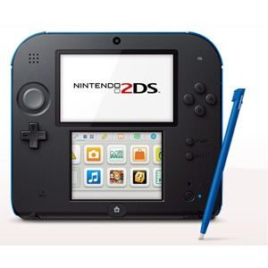 Nintendo 2DS Electric Blue - ニンテンドー 2DS エレクトリック ブルー (海外輸入北米本体)|hexagonnystore