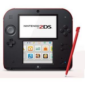 Nintendo 2DS Crimson Red - ニンテンドー 2DS クリムゾン レッド (海外輸入北米本体)|hexagonnystore