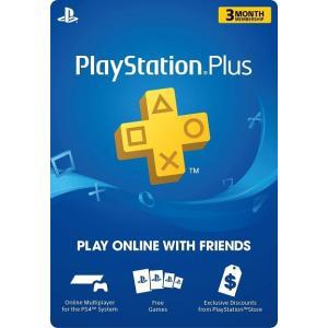 【コードメール発送】PlayStation Plus: 3 Month Membership - プ...