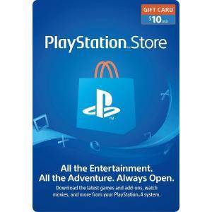 【コードメール発送】PlayStation Store Gift Card $10 - プレイステー...