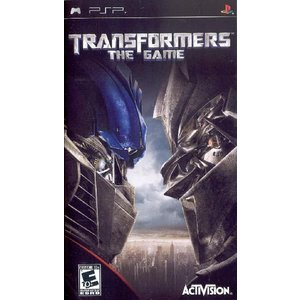 [訳あり商品] Transformers: The Game - トランスフォーマー ザ ゲーム  (PSP 海外輸入北米版ゲームソフト)|hexagonnystore