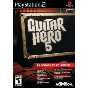 【訳あり商品】Guitar Hero 5 - ギターヒーロー 5 (PS2 海外輸入北米版ゲームソフト)|hexagonnystore