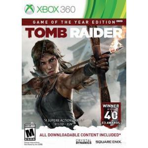 [開封済:訳あり商品] Tomb Raider Game of the Year - トゥームレイダー ゲームオブザイヤー (Xbox 360 海外輸入北米版ゲームソフト)|hexagonnystore