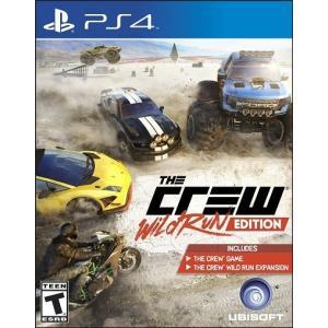[訳あり商品] The Crew Wild Run Edition - ザ クルー ワイルド ラン エディション (PS4 海外輸入北米版ゲームソフト)|hexagonnystore