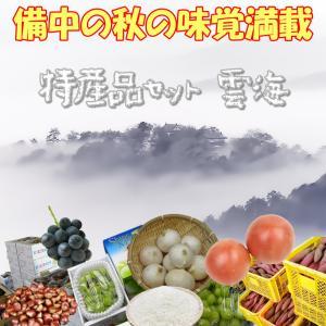 特産品セット 雲海 収穫の秋 トマト サツマイモ ぶどうなどなど 備中の秋の味覚満載|hey-com-bicchu