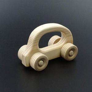 国産木剤使用で安心のおもちゃ がらがらカー|hey-com-bicchu