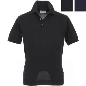 ジョンスメドレー John Smedley 30ゲージ ニットポロシャツ S3798 メンズ|hff