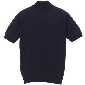 ジョンスメドレー John Smedley 30ゲージ モックタートルネックニットTシャツ S3813 メンズ hff 10