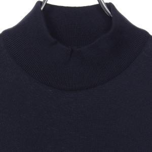 ジョンスメドレー John Smedley 30ゲージ モックタートルネックニットTシャツ S3813 メンズ hff 02