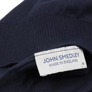 ジョンスメドレー John Smedley 30ゲージ モックタートルネックニットTシャツ S3813 メンズ hff 05