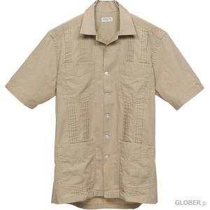 【セール・返品交換不可】バグッタ/Bagutta:ボーリングシャツ AVANA 7881 カーキブラウン|hff