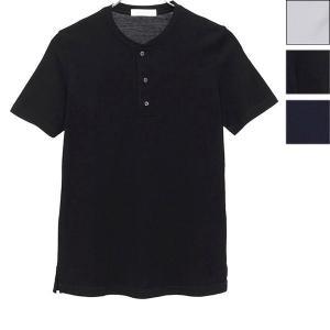 クルチアーニ/Cruciani:ヘンリーネックTシャツ マーセライズドコットン|hff