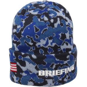 ブリーフィング/Briefing:ニット帽 トロピックカモフラージュ ビーニー|hff