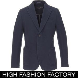 チルコロ1901 Circolo1901 シングルジャケット ジャージー カシミアタッチ ネイビー セール・返品交換不可|hff