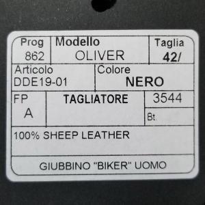 タリアトーレ Tagliatore レザーブルゾン シングルライダース Oliver メンズ|hff|10