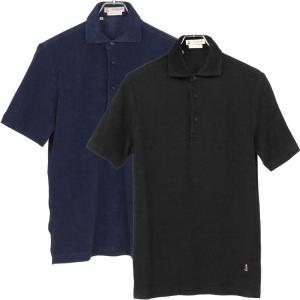 ギ・ローバー Guy Rover ポロシャツ ホリゾンタルカラー パイル|hff