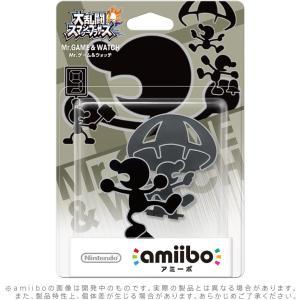 amiibo Mr.ゲーム&ウォッチ (大乱闘スマッシュブラザーズシリーズ)|hfs05