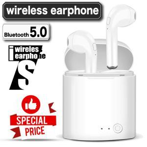 ワイヤレス イヤホン Bluetooth 5.0 tws i7sステレオ ブルートゥース 特別価格 最新版 iphone6s iPhone7 8 x Plus 11 android ヘッドセット ヘッドホン|hfs05