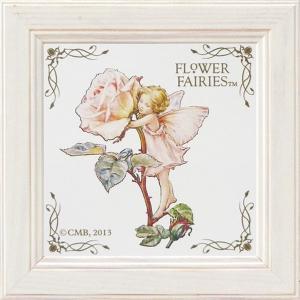 フラワーフェアリーズ ミニアートフレーム 「ローズ」 妖精 バラ イギリス 雑貨|hgpkaruizawa