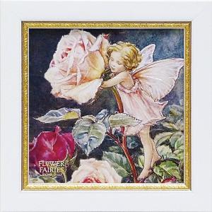 フラワーフェアリーズ ミニゲル アートフレーム 「ローズ」  妖精 ボタニカル 薔薇 バラ イギリス 雑貨 |hgpkaruizawa