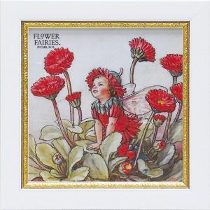 フラワーフェアリーズ ミニゲル アートフレーム 「ダブルデイジー」  妖精 ボタニカル イギリス 雑貨 |hgpkaruizawa
