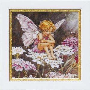 フラワーフェアリーズ ミニゲル アートフレーム 「キャンディタフト」  妖精 ボタニカル イギリス 雑貨 |hgpkaruizawa