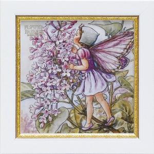 フラワーフェアリーズ ミニゲル アートフレーム 「ライラック」  妖精 ボタニカル イギリス 雑貨 |hgpkaruizawa