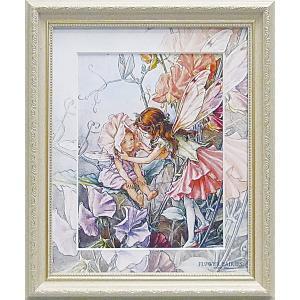 フラワーフェアリーズ アートフレーム 「スイートピー」  妖精 ボタニカル バラ イギリス 雑貨 |hgpkaruizawa