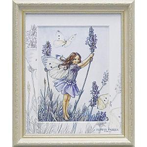フラワーフェアリーズ アートフレーム 「ラベンダー」  妖精 ボタニカル イギリス 雑貨 |hgpkaruizawa