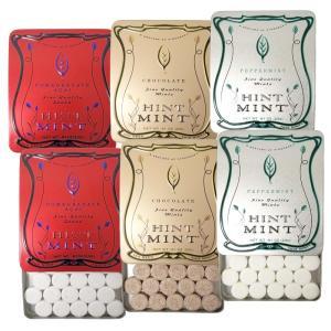ヒントミント クラシックラベル 3種6個セット (ザクロ&アサイ ペパーミント チョコレートミント ...