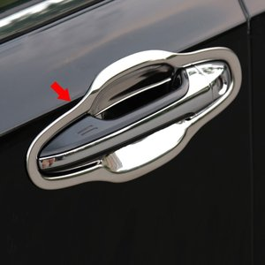 クラウン210系 アクセサリー カスタム パーツ トヨタ CROWN 用品 ドアハンドルプロテクター ドアハンドルカバー FH006