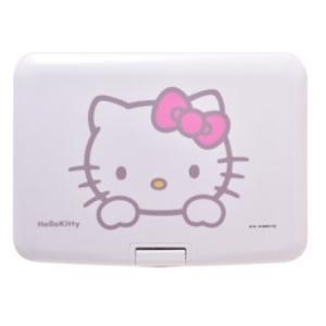 AVOX 9型ポータブルDVDプレーヤー ハローキティモデル (ピンク)HELLO KITTY モデル ADP-9030MKTY-P(AVOX)|hhshop