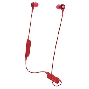 audio-technica  ATH-CK200BT RD Bluetooth インナーイヤホン|hhshop