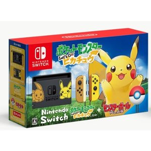 Nintendo Switch本体 ダウンロード版『ポケットモンスター Let's Go! ピカチュ...