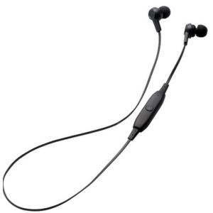 エレコム Bluetooth   インナーイヤーヘッドホン LBT-HPC12MP BK|hhshop