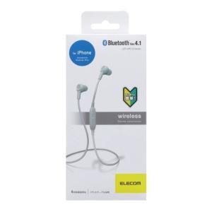 エレコム Bluetooth   インナーイヤーヘッドホン LBT-HPC12MP WH|hhshop