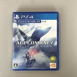 PS4  ACE COMBAT 7 :SKIES UNKNO 中古