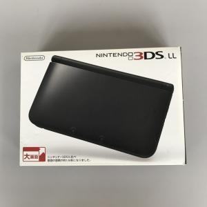 ニンテンドー 3DS LL 本体  ブラック  中古