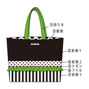 全てが選べるセミオーダー!帆布地のトートバッグ 大サイズ(受注製作)|hi-inari