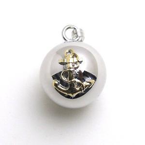 錨と舵輪のかっちりとしたマリンテイストのデザインなら男性へのプレゼントにもOK!その優しい柔らかな音...
