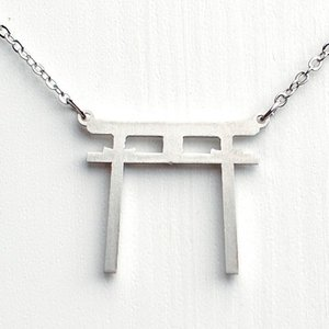 ( THINK JAPAN ) ネックレス / TORII ( 鳥居 ) ジャパン 日本 お土産 外国 hi-select