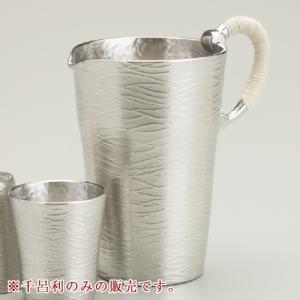 伝統工芸 大阪錫器 千呂利 ペジーブル ピューター 酒 日本製 工芸品|hi-select