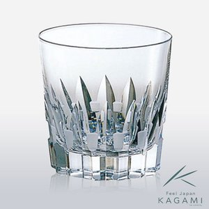 ( カガミクリスタル ) オンザロックグラス ( 1 ) クリスタル グラス hi-select